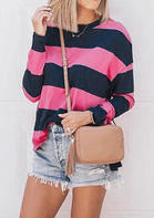 Striped_ONeck_Blouse_without_Necklace