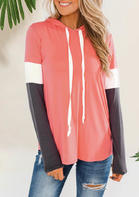 Color_Block_Splicing_Drawstring_Hoodie__Orange