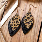 Leopard_Printed_DoubleLayered_Leather_Earrings