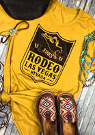 1985 Rodeo Las Vegas Nevada O-Neck T-Shirt
