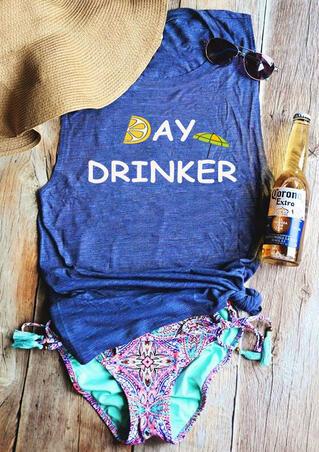 Day Drinker Tank - Blue