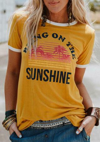 Bring On The Sunshine T-Shirt