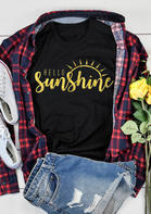 Hello Sunshine O-Neck T-Shirt