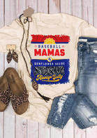 Baseball Mamas & Sunflower Seeds T-Shirt Tee
