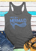 Summer Outfits I Must Be A Mermaid Tank