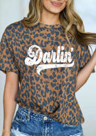 Leopard Darlin' T-Shirt Tee