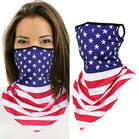 American Flag Star Face Scarf - Stripe