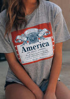 God Bless America T-Shirt Tee