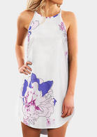 Floral Sleeveless Mini Dres