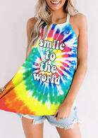 Tie Dye Smile To The World Camisole