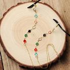Fashion Colorful Bead Eyeglass Chain