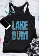 Lake Bum O-Neck Tank