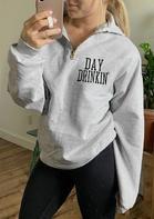 Day Drinkin' Zipper Sweatshirt
