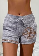 Yellowstone Drawstring Pocket Shorts