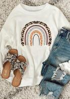 Leopard Rainbow Sweatshirt