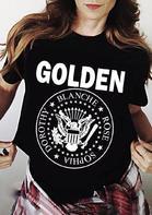 Golden Parody Band Arrow Star Eagle T-Shirt