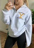 Yellowstone Zipper Collar Sweatshirt