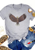 Vintage Eagle O-Neck T-Shirt