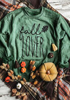 Fall Lover Leaf O-Neck Sweatshirt
