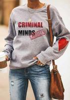 Criminal Minds Addict Heart Sweatshirt