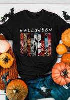 Halloween Villains Graphic T-Shirt