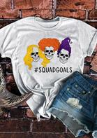 Halloween Hocus Pocus Witches Squad Goals T-Shirt