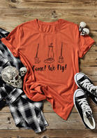 Halloween Come We Fly Sanderson Sister T-Shirt