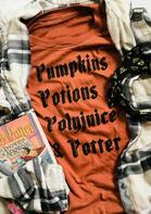 Thanksgiving Pumpkins Letter O-Neck T-Shirt