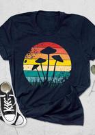 Magic Mycology Mushroom Graphic T-Shirt