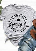 Halloween Sanderson Sister Brewing Co T-Shirt