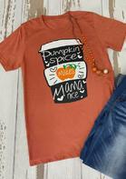 Thanksgiving Pumpkin Spice Makes Mama Nice T-Shirt
