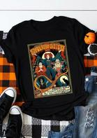 Halloween Eve Sanderson Sisters Hocus Pocus T-Shirt