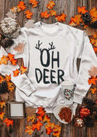 Christmas Oh Deer O-Neck Sweatshirt