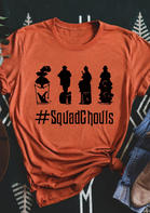 Halloween Squad Ghouls O-Neck T-Shirt
