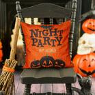Halloween Witch Pumpkin Bat Pillowcase without Pillow