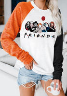 Halloween Horror Movie Pullover Sweatshirt