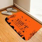 Halloween Pumpkin Witch Cartoon Non-Slip Carpet Doormat