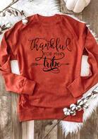 Thankful For My Tribe Long Sleeve Sweatshirt