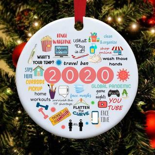 2020 Annual Events Christmas Hanging Ornament