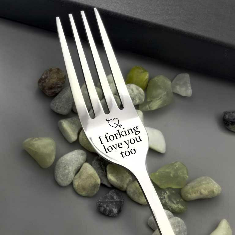 Fork Kitchen Tableware I Love Forking You