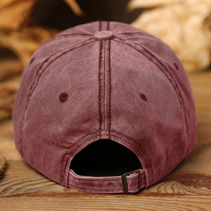 Washed Distressed Twill Baseball Cap