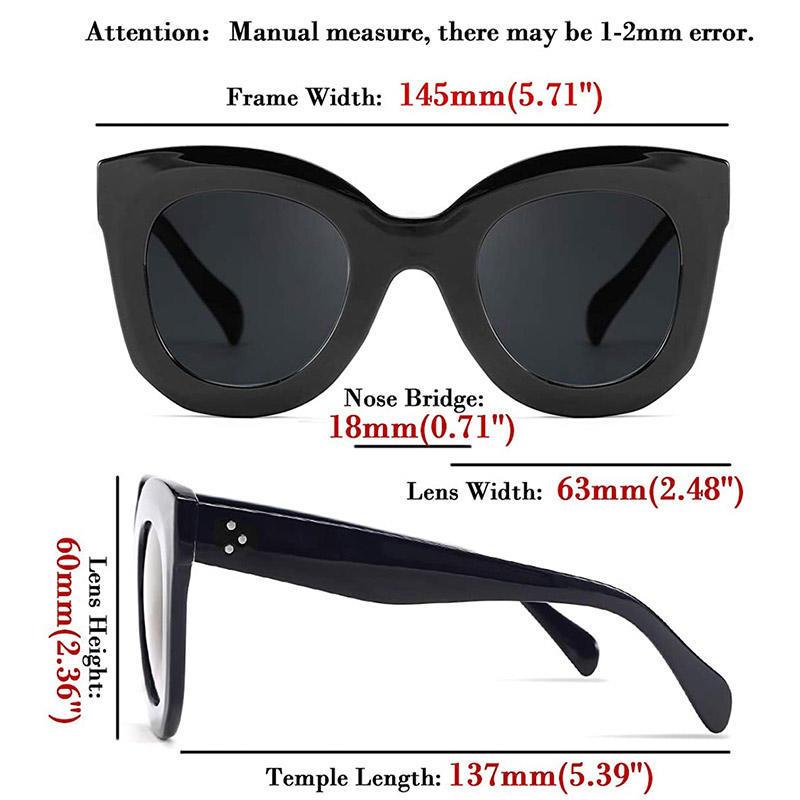 Women's Vintage Round Plastic Frame Sunglasses