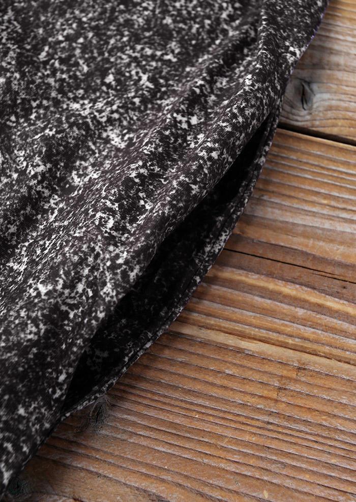 Cross Pocket Sleeveless O-Neck Bodycon Dress - Dark Grey