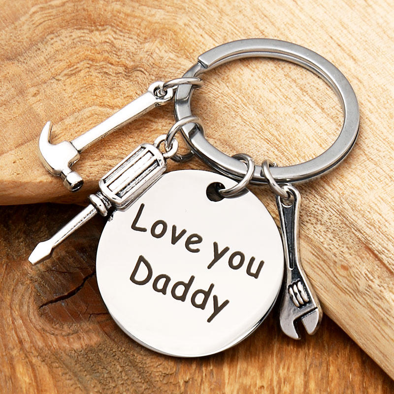 If Dad Can't Fix It No One Can Keychain