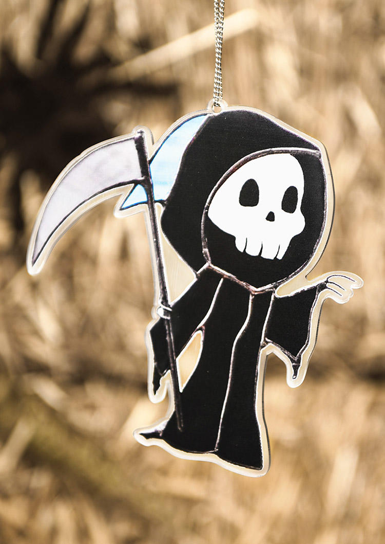 Halloween Pumpkin Scarecrow Witch Ghost Decoration Pendant