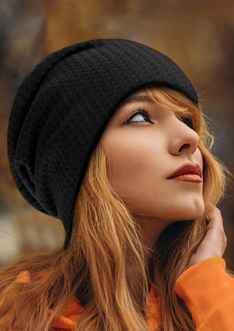 Knitted Breathable Beanie Hat