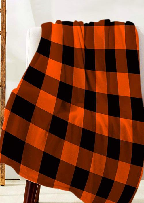 Luxury Buffalo Plaid Flannel Blanket