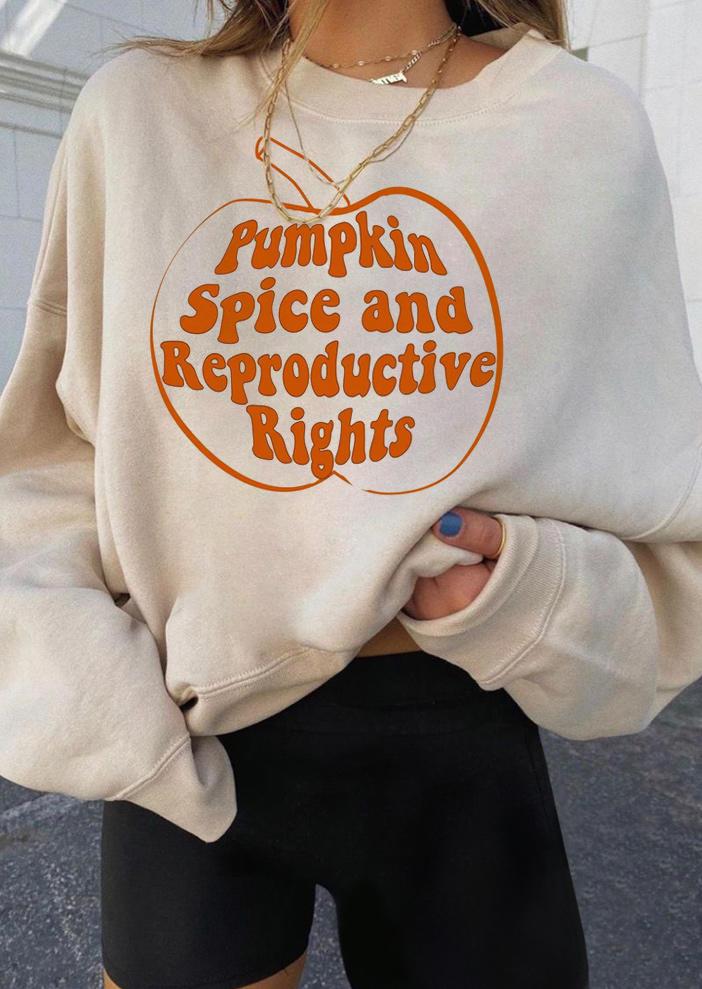 Pumpkin Spice And Reproductive Rights - Khaki