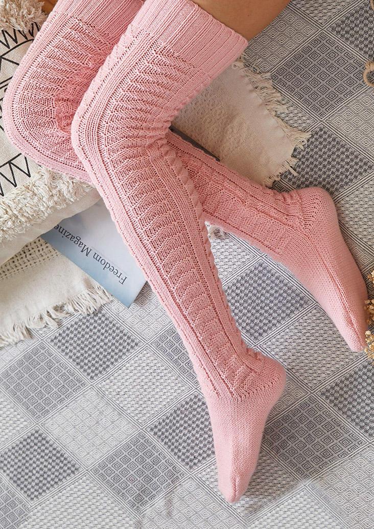 Warm Over Knee Extra Long Socks