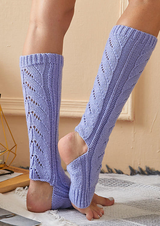 Warm Knitted Leg Warmers Socks